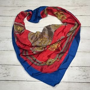 The Specialty House 100% Silk Royal Scarf Vintage